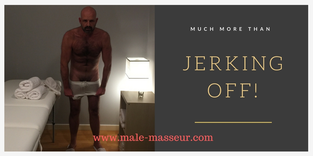 Jerking off masseur