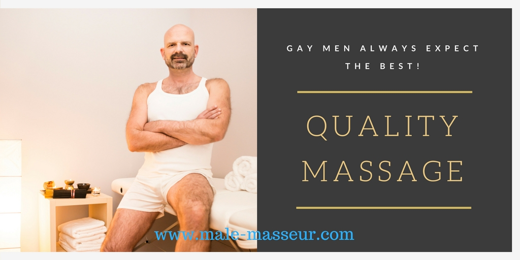 Quality gay massage