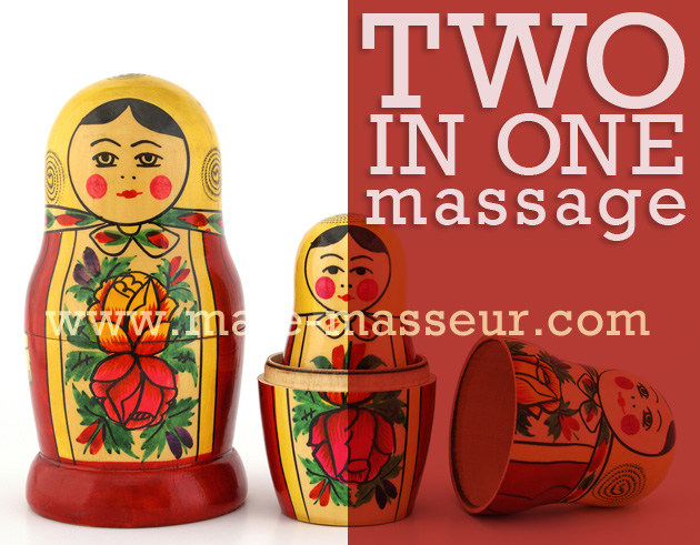 Two in one massage