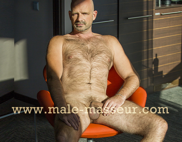 Nude male massage