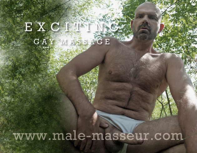 Exciting gay massage