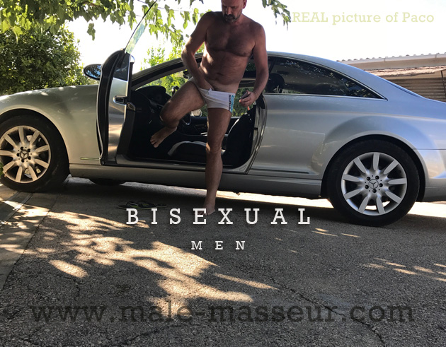 Bi-curious men massage