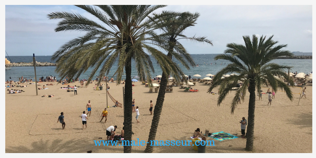Gay beaches in Barcelona