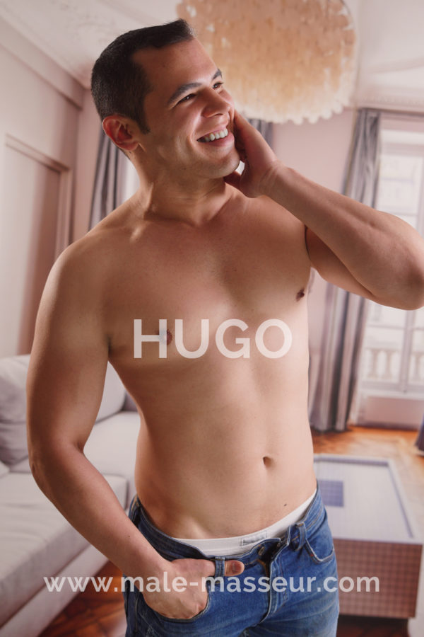 Hugo gay massage Madrid