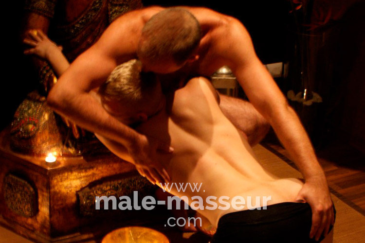 Erotic gay tantric massage