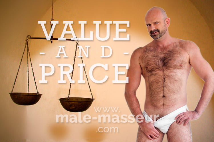 Value and price of massage